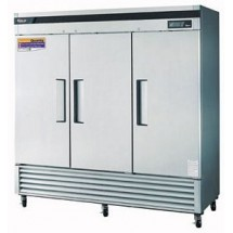 Turbo Air TSR-72SD Three-Section 72 Cu. Ft. Reach-In Super Deluxe Refrigerator