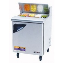 Turbo Air TST-28SD One-Section 7 Cu. Ft. Super Deluxe Sandwich/Salad Unit