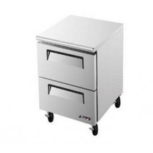 Turbo Air TUF-28SD-D2-N Super Deluxe 2 Drawer Undercounter Freezer 28