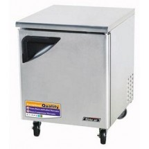 Turbo Air TUF-28SD-N Super Deluxe 1 Door Undercounter Freezer 28