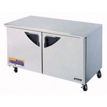 Turbo Air TUF-60SD-N Super Deluxe 2 Door Undercounter Freezer 60