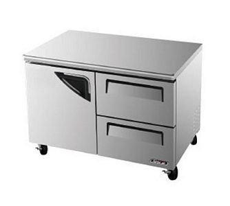 Turbo Air TUR-48SD-D2-N Super Deluxe 2  Drawer Undercounter Refrigerator  48