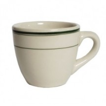 "Tuxton TGB-001 Green Bay 3-1/4"" Tall Cup - 3 doz"