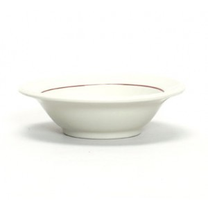 Tuxton YBD-052 Monterey Berry Rim China Fruit Dish 5-1/4