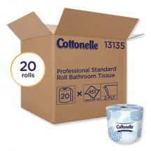 Cottonelle Two-Ply Bathroom Tissue, White, 451 Sheets/Roll, 20 Rolls/Carton