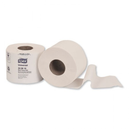 Universal Bath Tissue, Septic Safe, 2-Ply, White, 616 Sheets/Roll, 48 Rolls/Carton