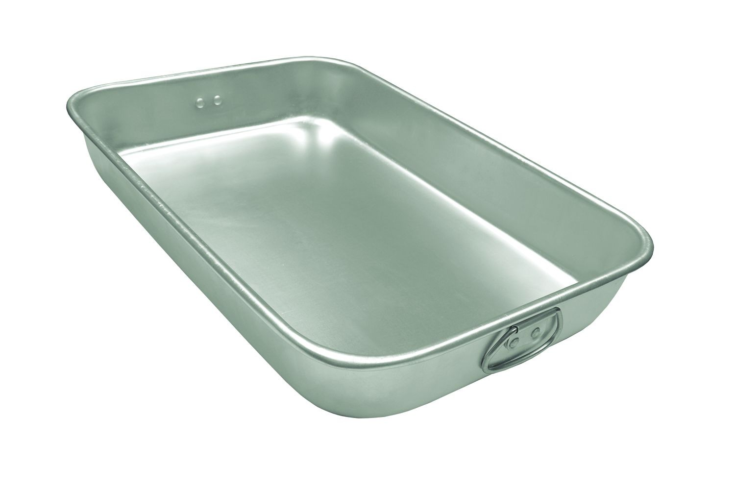 "Update International ABP-1826H Aluminum Bake Pan with Drop Handle 18"" x 26"""
