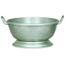 Update International ACO-11 Aluminum Colander with Handles 11 Qt.