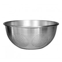 Update International ACO-16C Aluminum Chinese Style Colander 16 Qt.