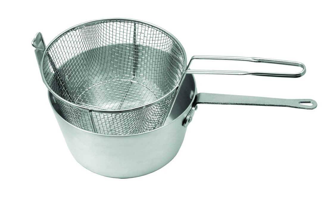 Update International AFPC-10 Aluminum Fryer / Pasta Pot 10 Qt.