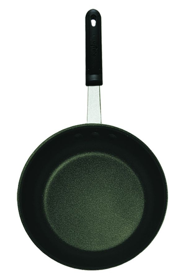 Update International AFX-14H Eclipse Coated Aluminum Fry Pan with Molded Handle 14