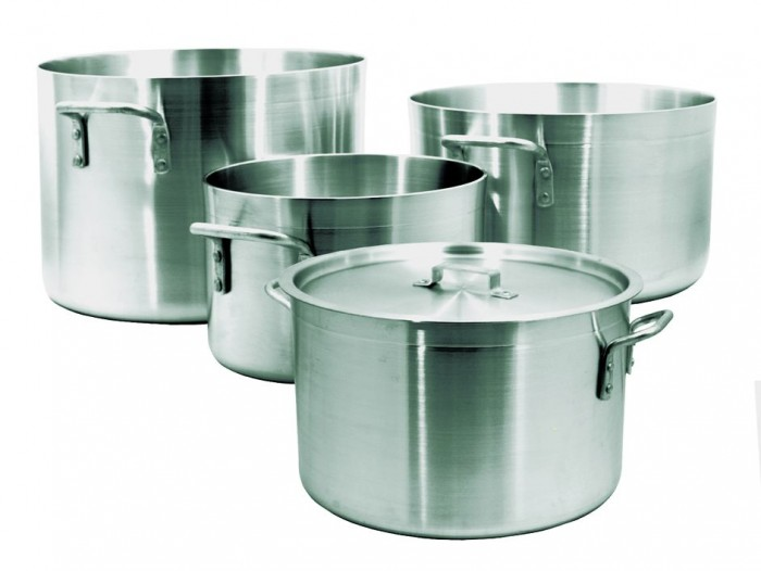Update International ALP-14 Aluminum Sauce Pot 14 Qt.
