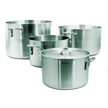 Update International ALP-26 Aluminum Sauce Pot 26 Qt.