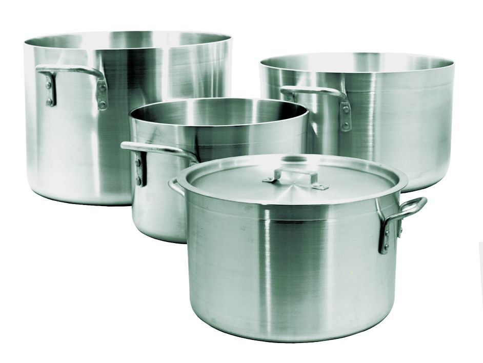 Update International ALP-34 Aluminum Sauce Pot 34 Qt.