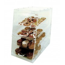 Update International APB-1424FD Acrylic 4 Tray Pastry Display