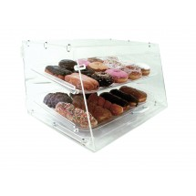 Update International APB-2112FD Acrylic 2 Tray Pastry Display