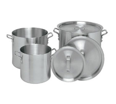 Update International APT-10 Aluminum Stock Pot 10 Qt.