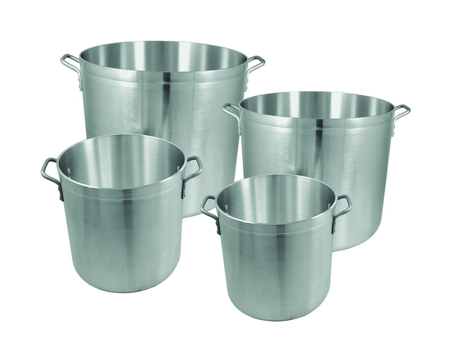 Update International APT-160HD Heavy Weight Aluminum Stock Pot 160 Qt.