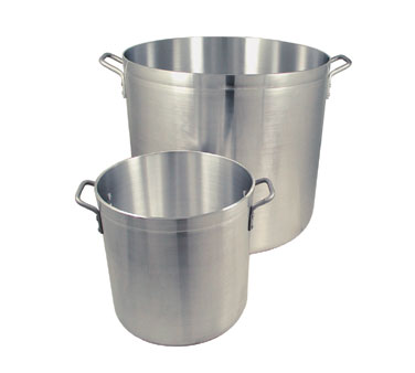 Update International APT-24HD Heavy Weight Aluminum Stock Pot 24 Qt.