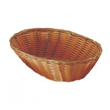 Update International BB-97 Rattan Oval Bread Basket