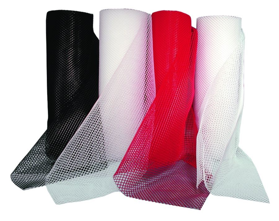 Update International BL240RD Red Bar Shelf Liner