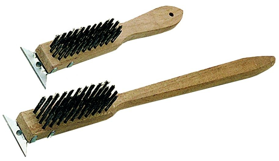 Update International BRW-11HD Heavy Duty Wire Brush with Short Handle