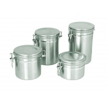 Update International CAN-8SS Canister 64 Oz. with Stainless Steel Lid