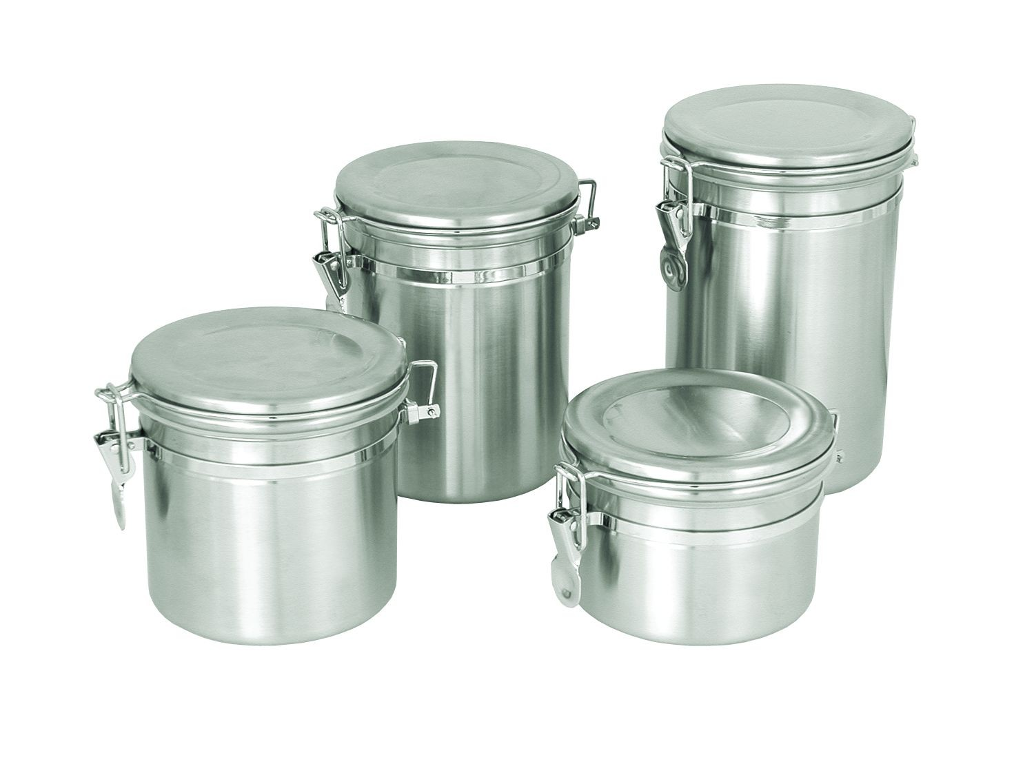 Update International CAN-8SS Canister 70 Oz. with Stainless Steel Lid