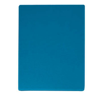 "Update International CBBL-1520 Blue Plastic Cutting Board 15"" x 20"""