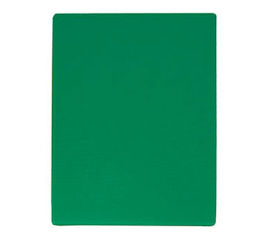 "Update International CBGR-1824 Green Plastic Cutting Board 18"" x 24"""