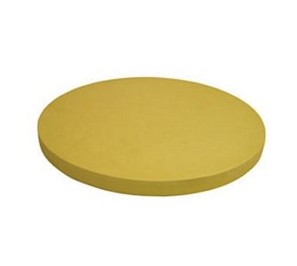 Update International CBR-16RH Rubber Round Heavy Cutting Board 16""