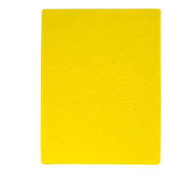 "Update International CBYE-1520 Yellow Plastic Cutting Board 15"" x 20"""
