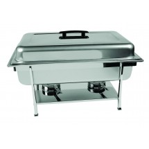 Update International CC-1P Full Size Stainless Steel Rectangular Continental Chafer
