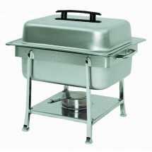 Update International CC-2P Half Size Stainless Steel Rectangular Continental Chafer