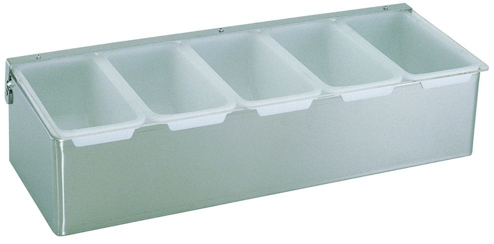 Update International CD-5 Condiment Dispenser with 5 Compartments