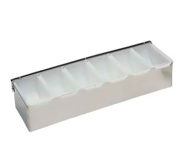 Update International CD-6 Condiment Dispenser with 6 Compartments