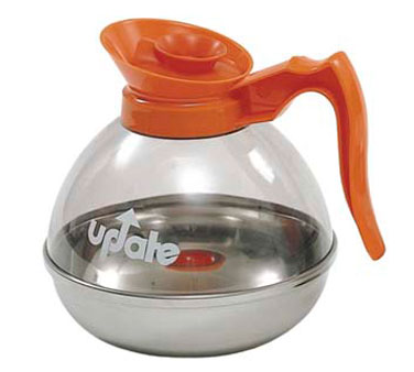 Update International CD-8890/OR Decaf 64 Oz. Coffee Decanter