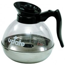 Update International CD-8890 Black 64 Oz. Coffee Decanter