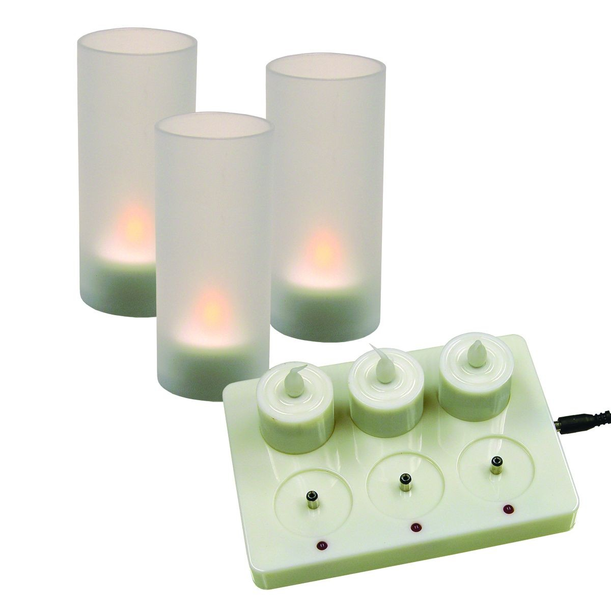 Update International CDL-6S Rechargeable LED Candle Set 6 Pack