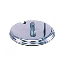Update International CJ-7SST Stainless Steel Condiment Jar Cover - 1 doz