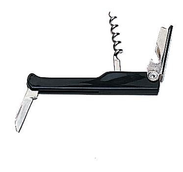 Update International CKS-WTR Black Waiter's Corkscrew