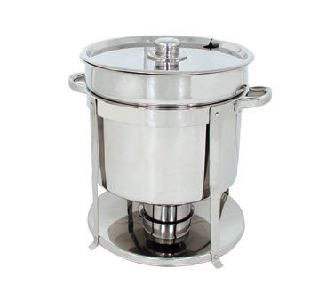 Update International CM-18/WP Round Water Pan for CM-18 Soup Chafer