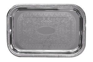 Update International CT-1812B Chrome Plated Oblong 18