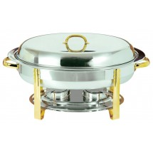 Update International DC-3 Oval Chafing Dish 20""
