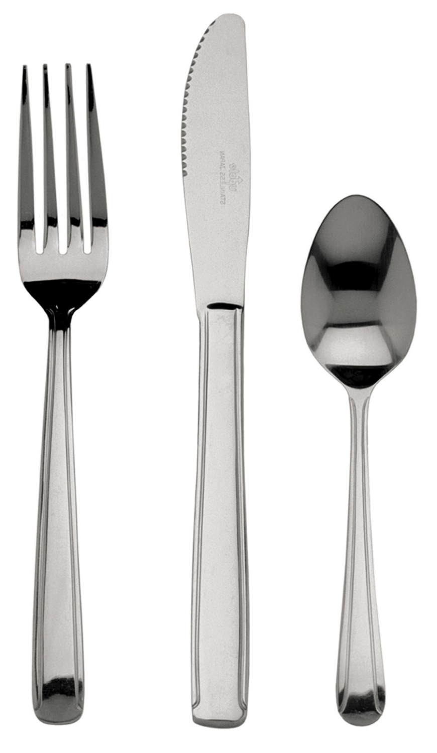 Update International DOM-12B Dominion Medium Weight Bouillon Spoon - 1 doz