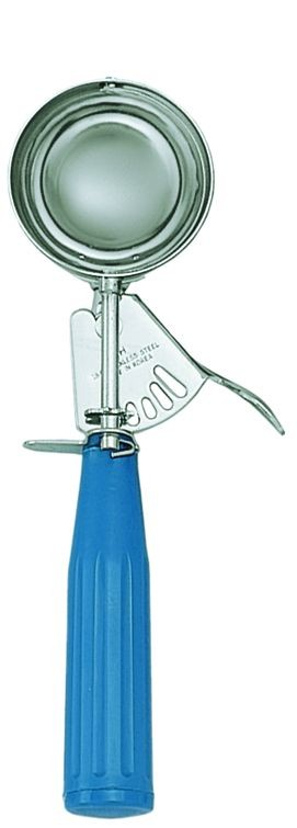 Update International DP-16 Blue Handle 2-3/4 Oz. Ice Cream Disher