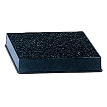 Update-International-DT-3545-Black-Plastic-Drip-Tray-with-Sponge