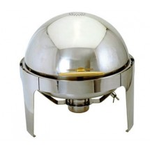 Update International EC-14/FP Round Chafer Food Pan for EC-14 6-1/2 Qt.