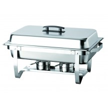 Update International ESFC-21 EZ-Stor Folding Chafer Dish 8 Qt.