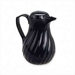 Update International FB3022/20  Black Swirl Coffee Server 20 Oz.